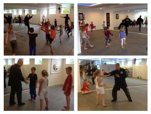 Kids Kung Fu 1ste les Lee Style Internal Martial Arts