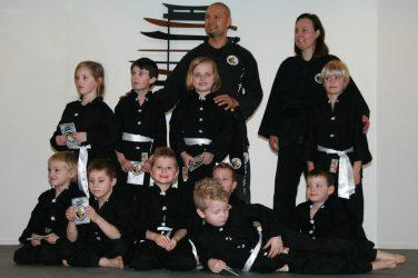 Kids Kung Fu examen Lee Style Internal Martial Arts
