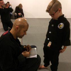 Kung Fu examen Lee Style Internal Martial Arts